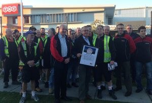 Member for Lilley, the Hon. Wayne Swan MP, pledges to keep Safe Rates.