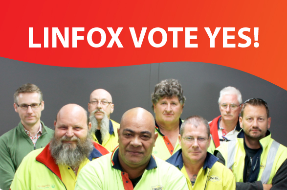 Linfox vote yes